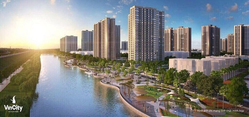 dự án Vincity Ocean Park gia lâm