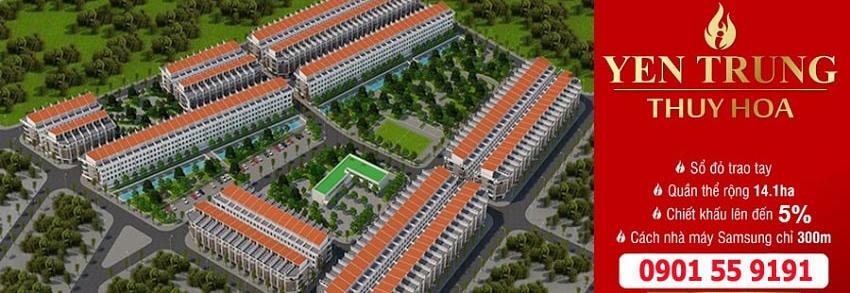 Đất nền Yên Phong SamSung Bắc Ninh